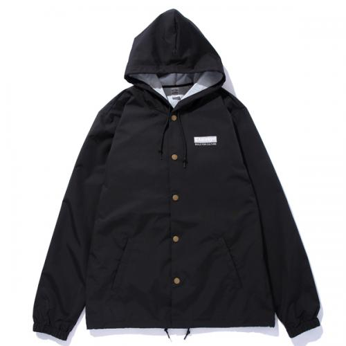 REFLECTOR HOODED JACKET