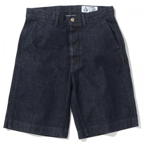 4 POCKETS DENIM SHORTS