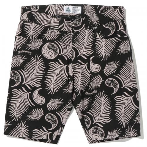FEATHER HAWAIIAN SHORTS