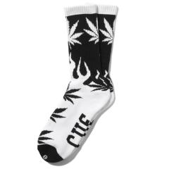 HUF×CHALLENGER CUF PLANT&FLAME SOCKS