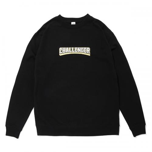 COLLEGE LOGO C/N SWEAT