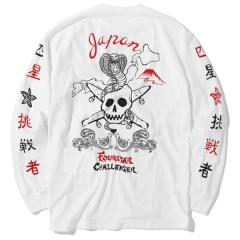FOURSTAR×CHALLENGER       L/S COBRA&PIRATE TEE