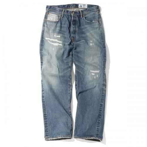 CRASH DENIM PANTS