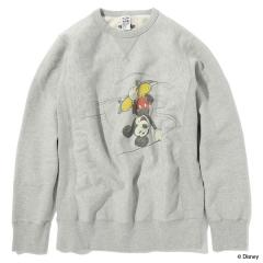 MICKEY MOUSE COLLECTION   ATTACK THE POOL CREWNECK