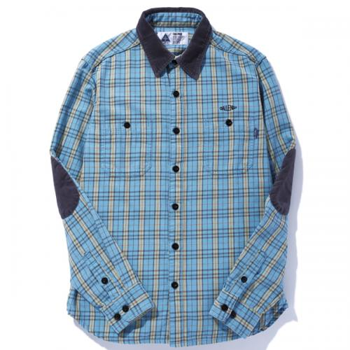 L/S WASHED CHECK SHIRT