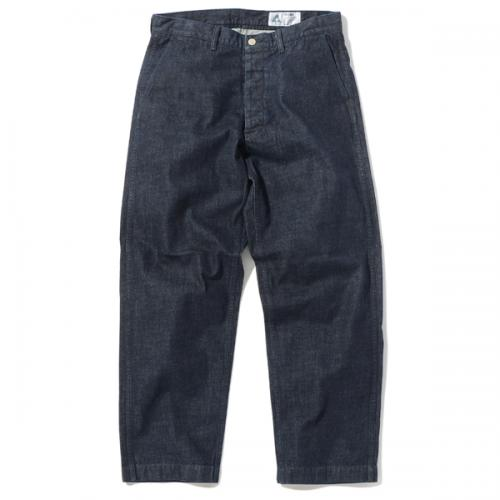 4 POCKETS WIDE DENIM PANTS