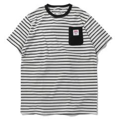 BORDER POCKET TEE