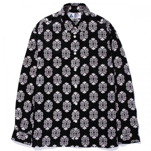 L/S RAYON MULTI PRINTED SHIRT
