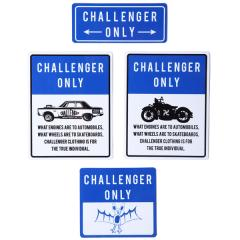 CHALLENGER ONLY STICKERS