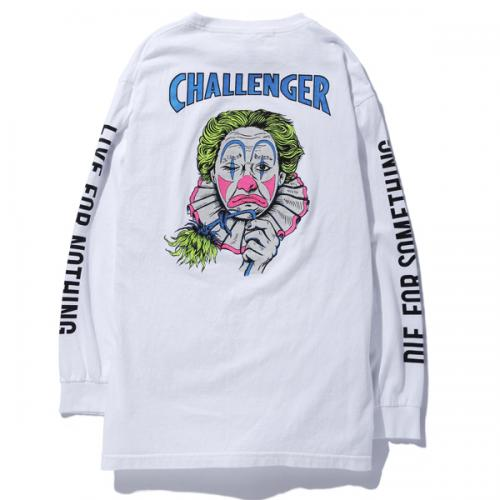 L/S WASHED CLOWN TEE