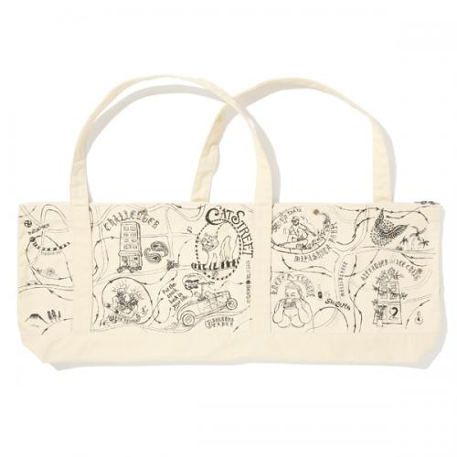 AlexanderLeeChang×CHALLENGER  MAP LONG TOTE BAG