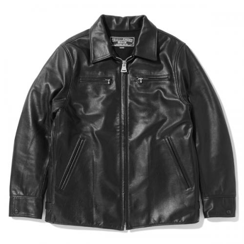 LEATHER CAR JACKET