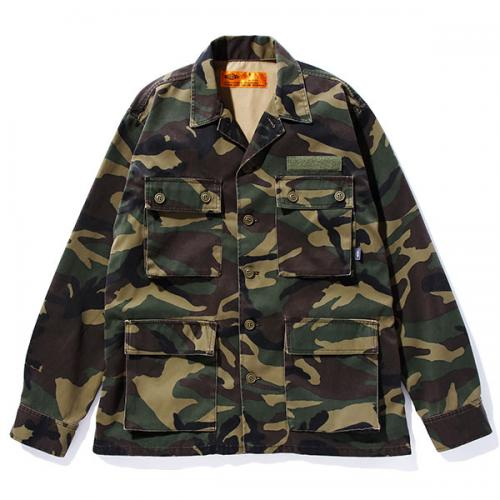 CAMOUFLAGE REFLECTED SHIRT