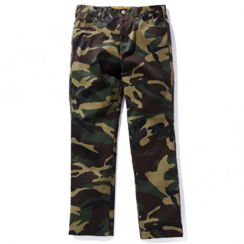 CAMOUFLAGE REFLECTED PANTS